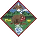 Troop 19 Patch with Penfield Foundation